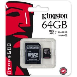 Tarjeta SD 64 GB C10
